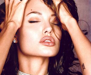 Angelina Jolie, girls, and lips image