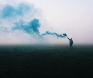 blue, smoke, and alternative image