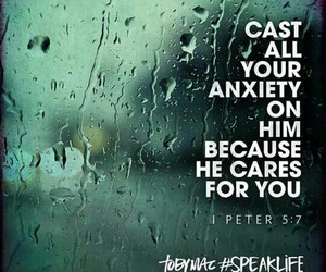 anxiety, bible, and cast image