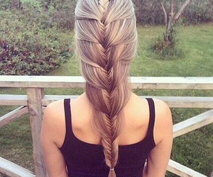 braids, inspiration, and long hair image