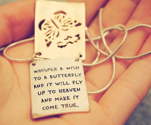 wish, butterfly, and heaven image