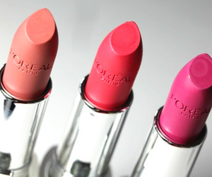 lipstick, loreal, and makeup image