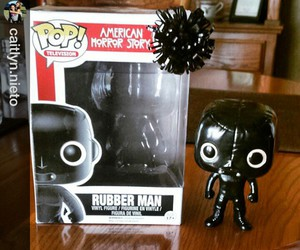 black, evan peters, and rubber man image