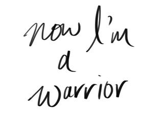 warrior, demi lovato, and quotes image