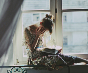 book, photography, and girl image