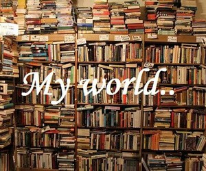 book, worl, and cute image