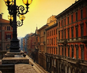 bologna, buildings, and lights image