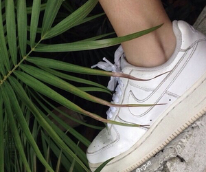 nike, plants, and grunge image