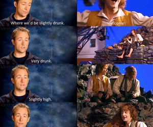 drunk, funny, and lord of the rings image