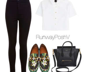 casual, celine, and fashion image