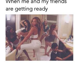 friends, funny, and ready image