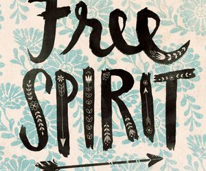 free, quote, and spirit image
