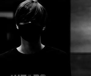 b&w, indie, and korean image