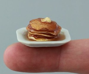 breakfast, pancakes, and stack image
