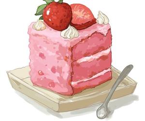 animation, anime, and cake image