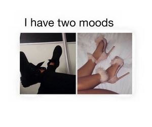 funny, mood, and shoes image
