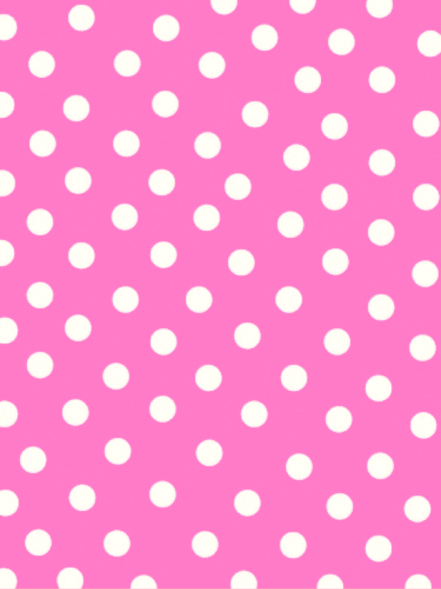 Pink Polka Dot Wallpaper Discovered By 𝓈𝒶𝓂𝒶𝓃𝓉𝒽𝒶