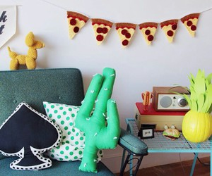 diy pillows, diy decorations, and pineapple decor image