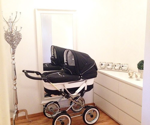 baby and stroller image