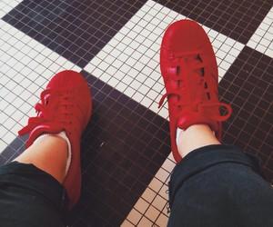 adidas, pharell williams, and supercolor image