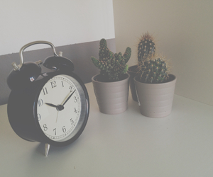 clock and room image