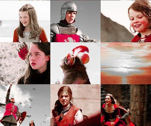 lucy pevensie, narnia, and sea image