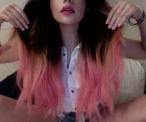 cute, pink.girl, and gorgeous hair! image