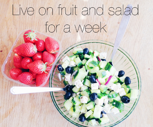 fruit, healthy, and salad image