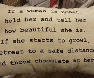 funny, pillow, and women image