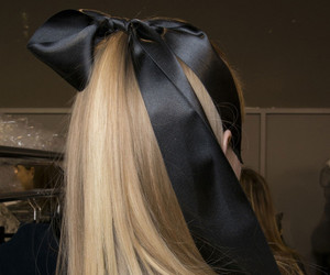 bow, backstage, and black image