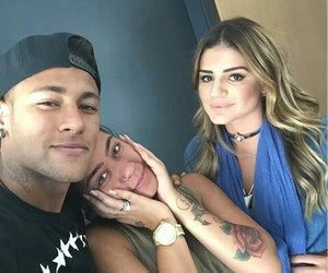 neymar, rafaella, and love image