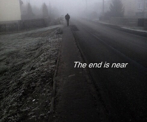 grunge, sad, and the end image
