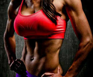abs, fitness, and muscles image