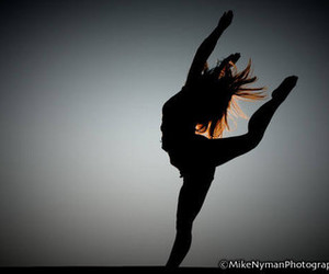 silhouette and dance image