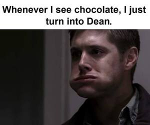 chocolate, dean winchester, and Jensen Ackles image