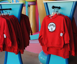 thing 1, thing 2, and red image