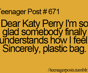 katy perry, post, and teenager image