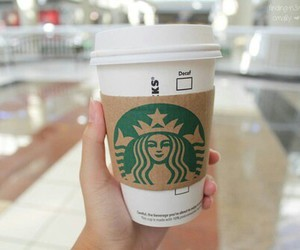 coffee, nice, and starbucks image