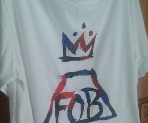 fall out boy, my diy, and textil paint image