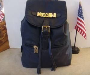 Moschino and vintage image
