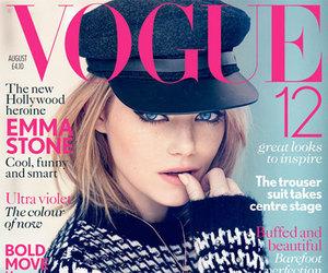 emma stone, vogue, and magazine image