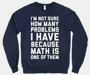 math, funny, and problem image
