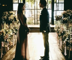 couple, delena, and love image