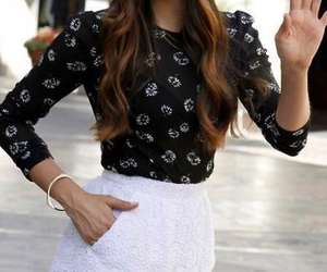 Nina Dobrev, style, and outfit image