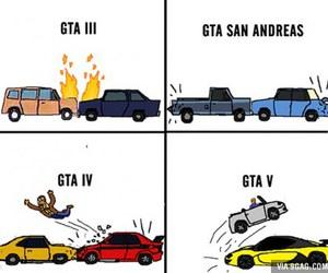funny, grand theft auto, and gta image