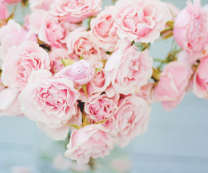 pastel, vintage, and flowers image