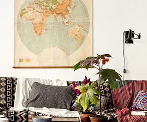 interior, boho, and design image