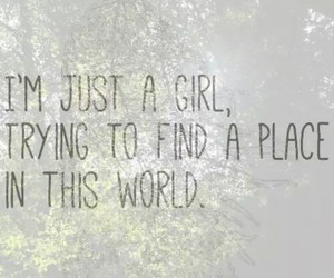 girl, world, and place image
