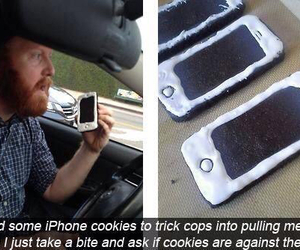 iphone, funny, and Cookies image