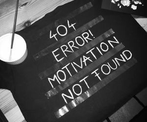 error and motivation image